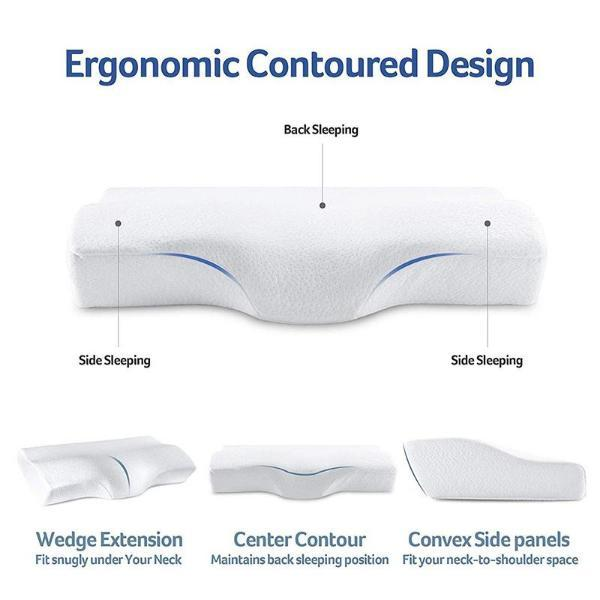 Best pillow for neck and back pain - Flowsleeps